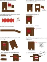 Domo-Kun Plushie Making Guide by Mokulen22