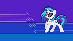 Vinyl Scratch wallpaper 13 by JamesG2498