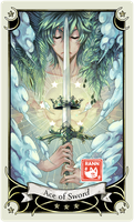::Tarot-Minor Arcana-Ace of Sword:: by rann-poisoncage