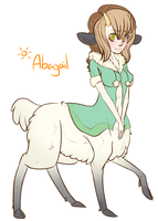 Abagail The Centaur by Morguesque