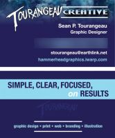New Business Card Design by stourangeau