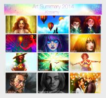 Art Summary 2014 by Kosamy