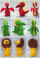 More Crochet Creatures by aneesah