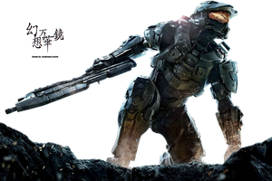 Halo 4 Render by Awakening-Scarlet