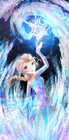 Disney Frozen by Ponchiux