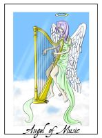 Angel Of Music -Coloured- by Loucife