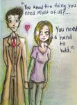 The Doctor and Rose: A Hand To Hold by lam8507