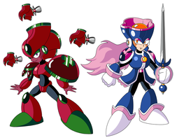 Mega Man TT's Rose Women by JusteDesserts