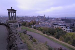 Edinburgh from Calton Hill by WestLothian