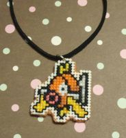 Magikarp Necklace by xxEmofoxdemonxx