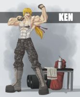 Ken at the Gym by mystery79