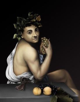 The Young Sick Bacchus - Study by SethWoll
