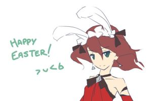 Happy Easter 2010 by winnietehpoohie