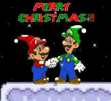 A Super MArio Christmas by LostPlumber-Tman1593