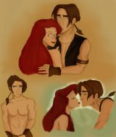 More Jim and Ariel by kbSrep