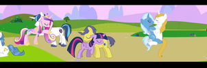 MLP FIM: It's a Beautiful Day by 3D4D