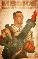 Team Fortress 2 Medic by Lord by RyanLord