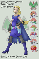 Gym Leader - Ophelia by Pokemon-Mento