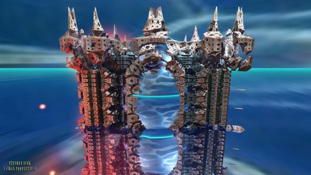 Keep of the Deep (8K): #22 SeaCastle 3 by Paigan0