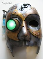 Steampunk mask by steammickey