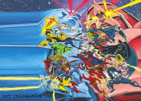 MARVEL VS. DC by lass2010