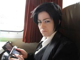 Claude doesn't like when he gets no streetpasses by Catchmewithyourlips