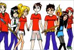 Campers from Camp Half-Blood by Artemis015