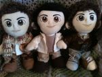 Jonas Brothers plushies by desederas