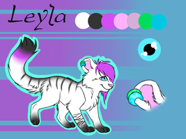 Leyla Reference Sheet by Sorasongz