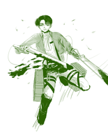 Lance Corporal Rivaille by Deeyosa