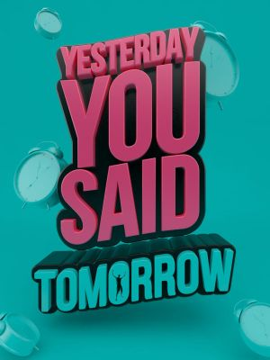 Yesterday you said tomorrow by RenePoma
