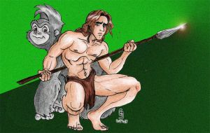 Tarzan by cirgy
