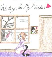 Waiting for my Master by Vampenxwitch