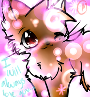 I will always love you... by misothekitty