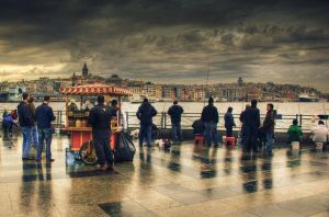 a scene at istanbul by 1poz