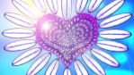 Sky Heart Flower - Nature Art - Fantasy by chase4884
