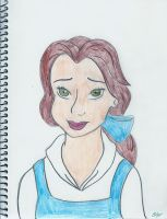 Belle! (colored) :D by LittleMissBrynne