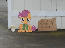HOMELESS SCOOTALOO by DilettanteSucker