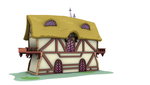 Ponyville Model - Wide_B Back (Game/Animation) by discopears