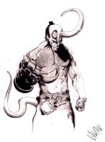 hellboy by alanbarbosa