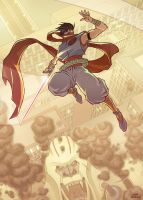 strider hiryu by OscarCelestini