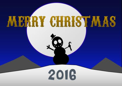 Merry Christmas 2016 by CreatureFeatureChaos