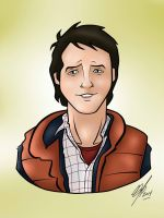 Marty McFly 2 by Kryptoniano