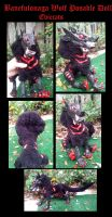 Cobra Wolf Posable Art Doll by Eviecats