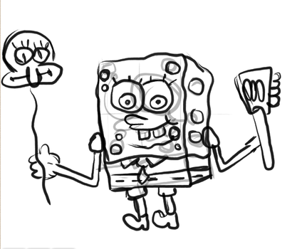 Spongebob (not completed) by ASPROULIS123
