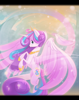 Grown-Up Princess Flurry Heart by zombie
