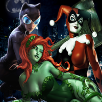 Gotham City Sirens by BatNight768