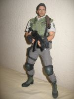 Hot Toys 1/6 scale Chris Redfield STARS by Demon-Lord-Cosplay