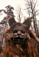 Wampus Cat Mask by MonicaMcClain