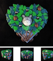 I Heart Totoro Box by egyptianruin